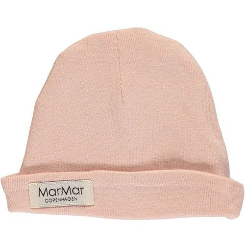 MarMar Copenhagen Aiko Newborn Hat Rose (Babymuts)-1
