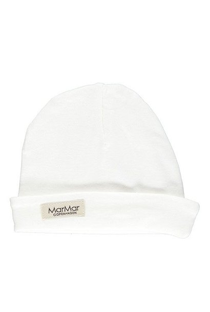 MarMar Copenhagen Aiko Newborn Hat Gentle White (Babymuts)