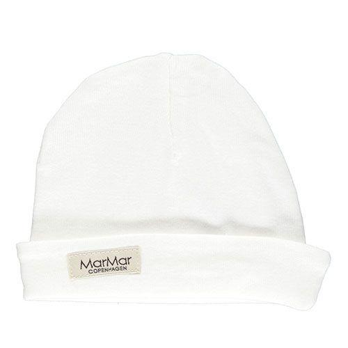 MarMar Copenhagen Aiko Newborn Hat Gentle White (Babymuts)-1