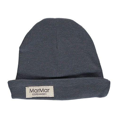 MarMar Copenhagen Aiko Newborn Hat Blue (Babymuts)-1