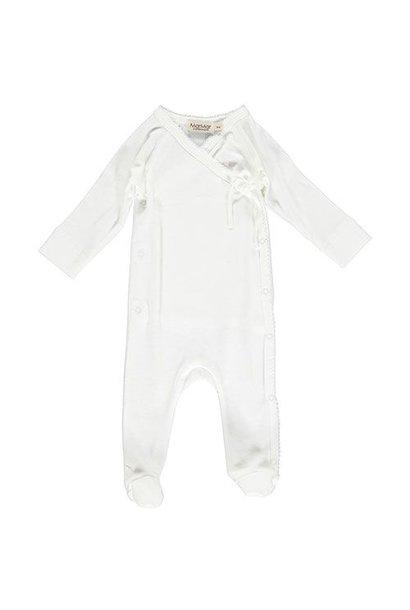 MarMar Copenhagen Rubetta Newborn Romber Gentle White (Romper)