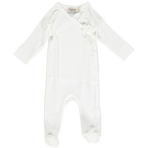 MarMar Copenhagen Rubetta Newborn Romber Gentle White (Romper)-1