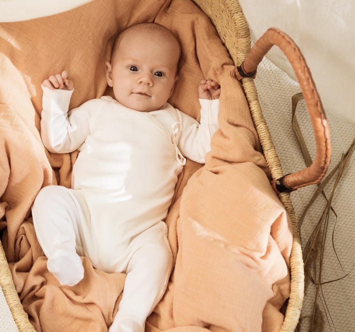 MarMar Copenhagen Rubetta Newborn Romber Gentle White (Romper)-4