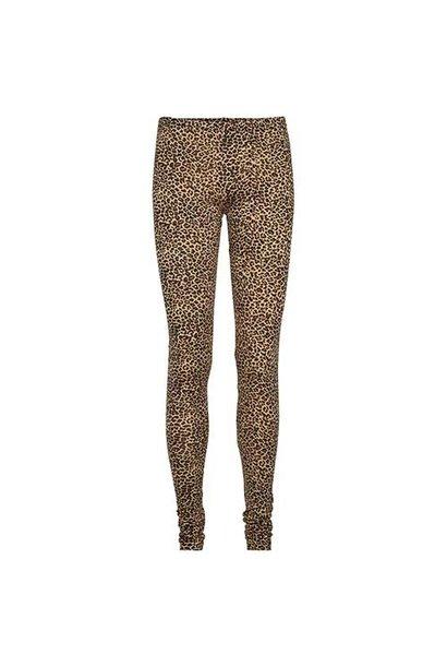 MarMar Copenhagen Woman Leo Leg W Leopard Pants Brown Leo (Legging)