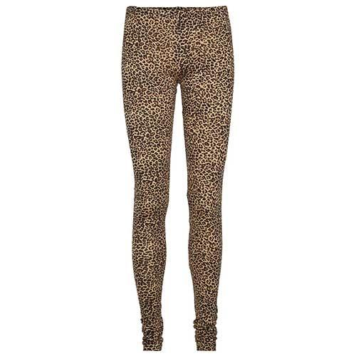 MarMar Copenhagen Woman Leo Leg W Leopard Pants Brown Leo (Legging)-1