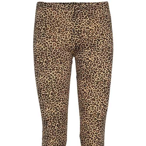 MarMar Copenhagen Woman Leo Leg W Leopard Pants Brown Leo (Legging)-3