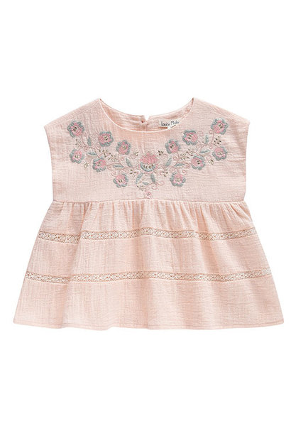 Louise Misha Top Luciana Blush