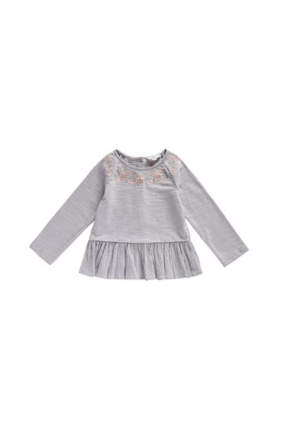 Louise Misha Sweat Top Sujan Grey
