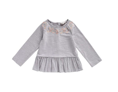 Louise Misha Sweat Top Sujan Grey-1