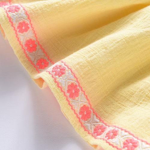 Louise Misha Top Pushkar Lemon-4
