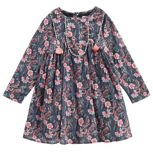 Louise Misha Dress Roulotta Storm Flowers (Jurk)-1