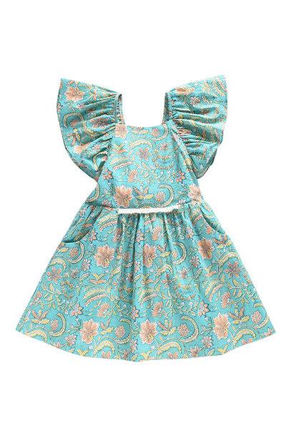 Louise Misha Dress Minaksi Bloom Flower (Jurk)