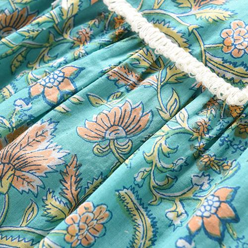 Louise Misha Dress Minaksi Bloom Flower (Jurk)-5