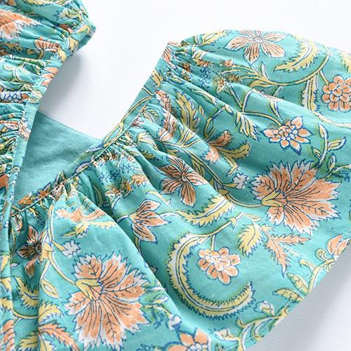 Louise Misha Dress Minaksi Bloom Flower (Jurk)-6