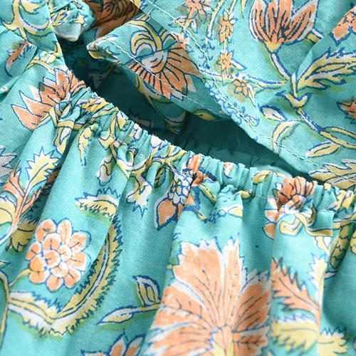 Louise Misha Dress Minaksi Bloom Flower (Jurk)-7