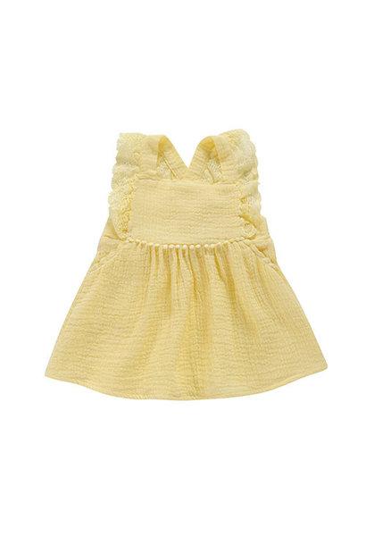 Louise Misha Dress Magic Lemon (Jurk)