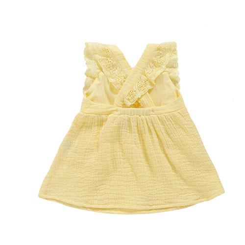 Louise Misha Dress Magic Lemon (Jurk)-5