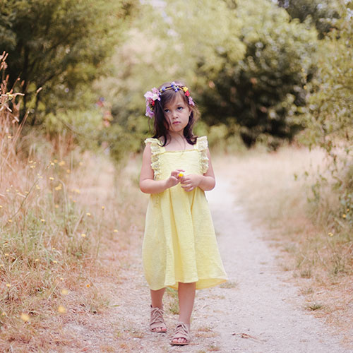 Louise Misha Dress Magic Lemon (Jurk)-2