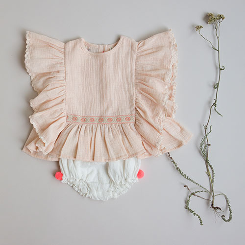 Louise Misha Bloomers Boun White (Short)-2