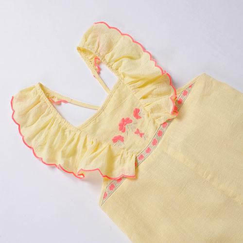 Louise Misha Overall Mumbai Lemon (Jumpsuit)-3
