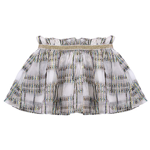 Louise Misha Skirt Samana White Rainbow (Rok)-1