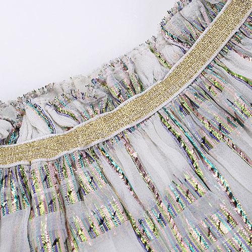 Louise Misha Skirt Samana White Rainbow (Rok)-5