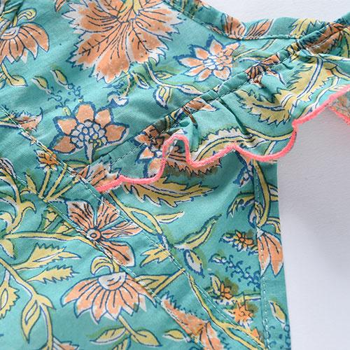 Louise Misha Overall Mumbai Bloom Flower (Jumpsuit)-5