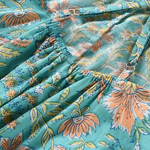 Louise Misha Overall Mumbai Bloom Flower (Jumpsuit)-8