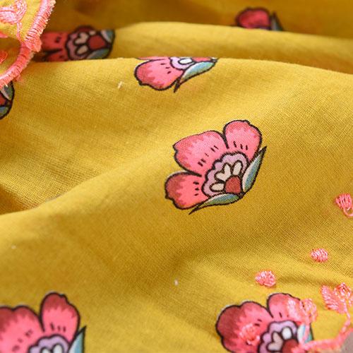 Louise Misha Skirt Litchi Safran Flowers (Rok)-6