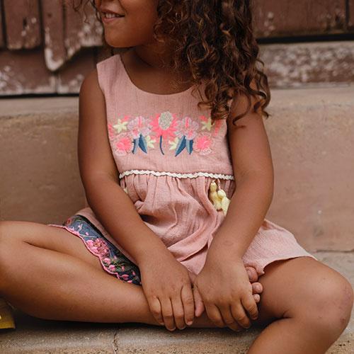Louise Misha Top Acacia Rusty (Shirt)-3