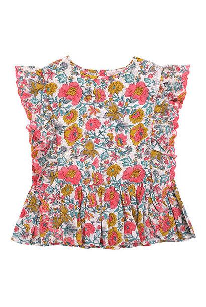 Louise Misha Top Figaria Multi Flowers (Shirt)