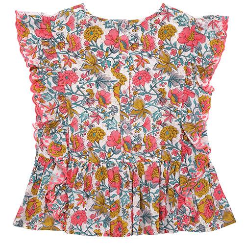 Louise Misha Top Figaria Multi Flowers (Shirt)-6