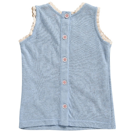 Louise Misha Marcel Banana Silver Cloud Tank Top (Shirt)-6