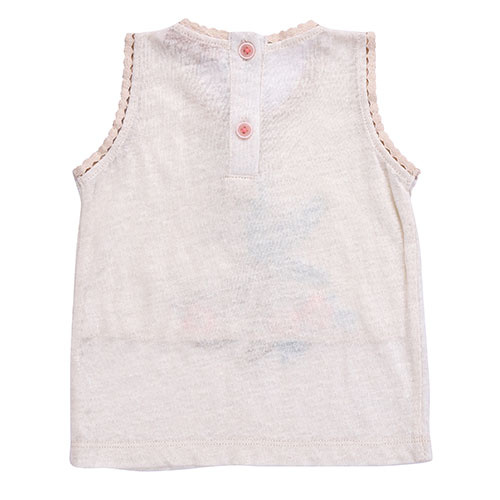 Louise Misha Marcel Banana White Tank Top (Shirt)-6