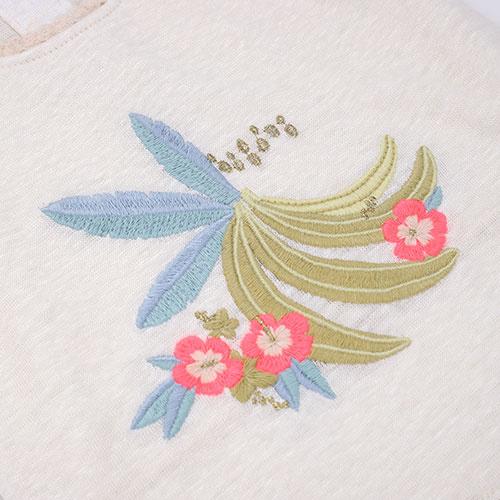 Louise Misha Marcel Banana White Tank Top (Shirt)-5