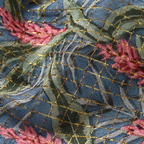 Louise Misha Dress Costa Lagoon Leaves (Jurk)-6
