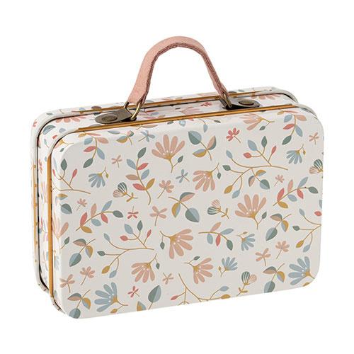 Maileg Suitcase, metal - Merle light (speelgoed koffertje)-1