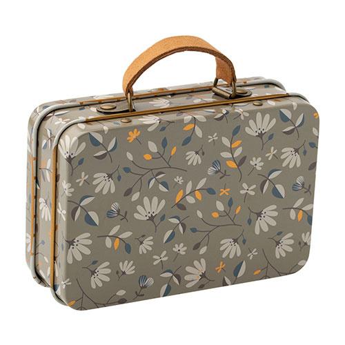 Maileg Suitcase, metal - Merle dark (speelgoed koffertje)-1