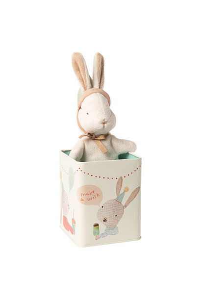 Maileg Happy day bunny in box, Small (konijn)
