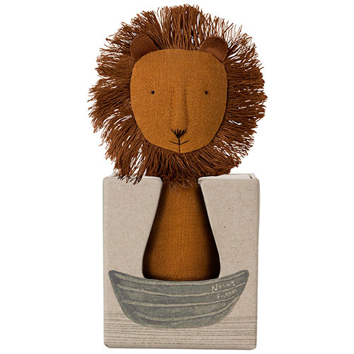 Maileg Noah's Friends, Lion Rattle (rammelaar leeuw)-3