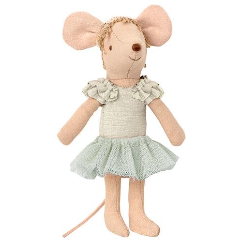 Maileg Dance mouse, Big sister - Swan lake (muis)-1