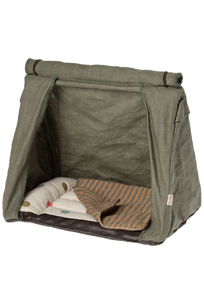 Maileg Happy camper tent, Mouse (muis)