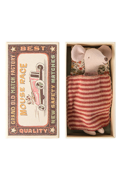 Maileg Big sister mouse in matchbox (muis)