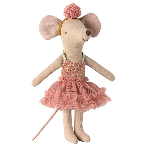 Maileg Dance mouse, Big sister - Mira Belle (muis)-1