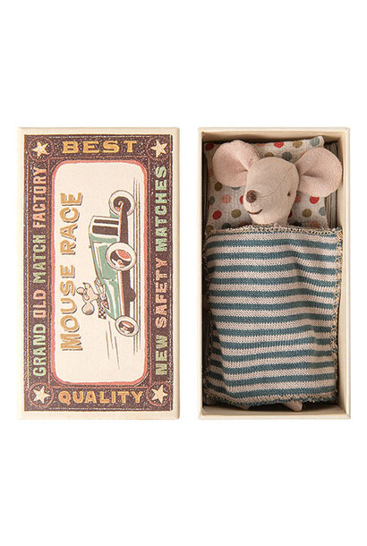 Maileg Big brother mouse in matchbox (muis)