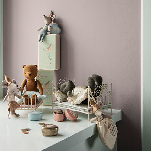 Maileg Mouse, Tooth Fairy, Boy, w. metal heart (muis)-2