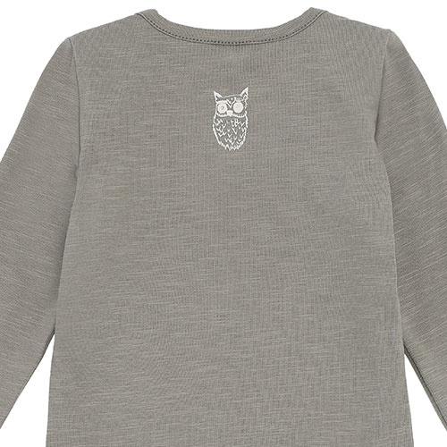 Soft Gallery Bob Body Vetiver Soft Owl (Romper)-5
