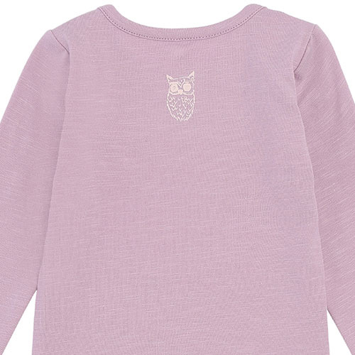 Soft Gallery Bob Body Mauve Shadows Soft Owl (Romper)-5