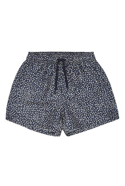 Soft Gallery Dandy Swim Pants Blue AOP Leospot (Zwembroek)