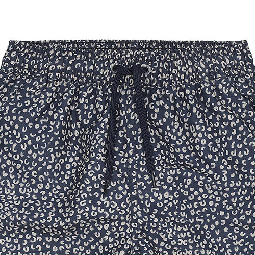 Soft Gallery Dandy Swim Pants Blue AOP Leospot (Zwembroek)-5